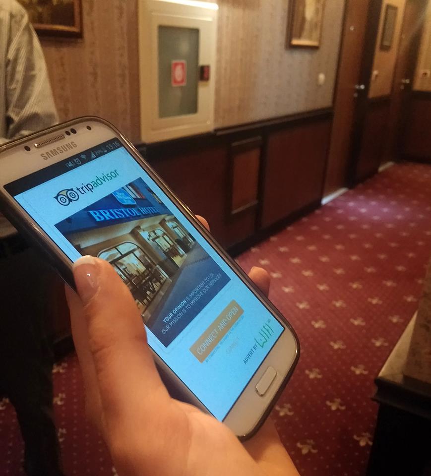 Bristol Hotel подканва клиентите си да пишат ревюта